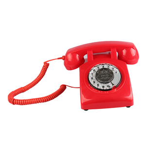 Image 4 - Retro Rotary Dial Home Phones, Old Fashioned Classic Corded Telephone Vintage Landline Phone for Home and Office