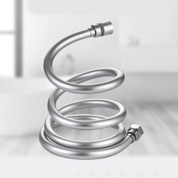1.5/2/3m PVC Smooth Shower Hose High Pressure Thickening Handheld Head Flexible Anti Winding For Bath Parts Accessories A5YD