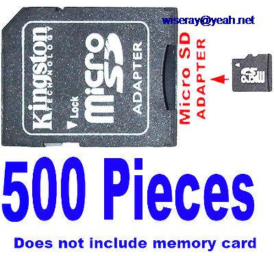 DHL/EMS  1G 2G 4G 8G Micro SD TO SD Memory Cards Adapters 500PCS-A8