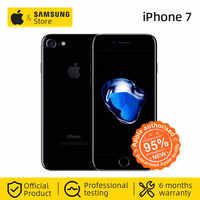 Débloqué Apple iPhone 7 4G LTE Smartphone 32/128GB ROM IOS téléphone Mobile (utilisé 95% nouveau)
