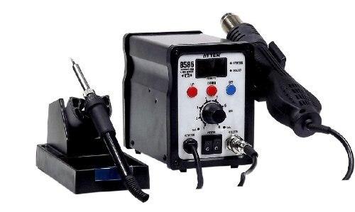 Atten Temperature Display Heat Gun Welding Sets 2-in-1 Hot Air Rework Station