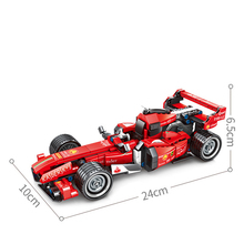 SEMBO block Compatible with Technic Creator Expert F1 Formula Car Building Blocks sets Bricks Pull back racing car Kids Toys lepin toys 17003 creator expert sydney opera house 2989pcs building blocks australia s architectural compatible with legoinglys