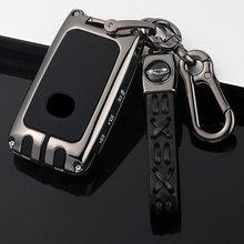 Автомобильный ключ чехол КРЫШКА ДЛЯ Mazda 3 Alexa CX5 CX8 CX4 2019 2020 3 кнопки смарт-пульт дистанционного управления аксессуары для автомобильных ключей...