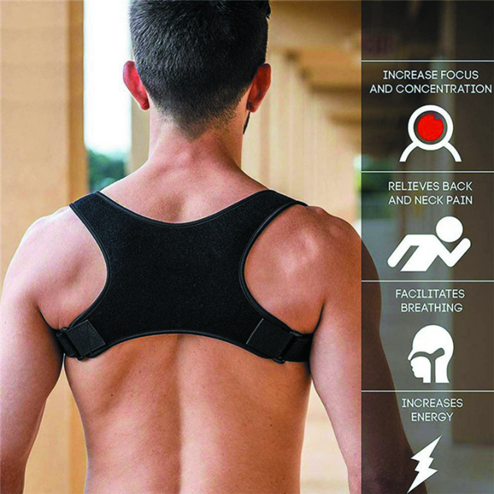 Brace Support Belt Adjustable Posture Corrector Clavicle Spine Shoulder Lumbar Fitness Adult Children Corset Orthopedic Rectify