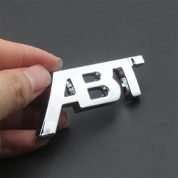 1X 3D Sticker For Audi A3 8V A4 B8 B9 A5 A6 A7 Q2 Q3 Q5 Q7 Q8 Honeycomb Mesh Hood Grill Badge ABT Sportsline Side Sticker Trim