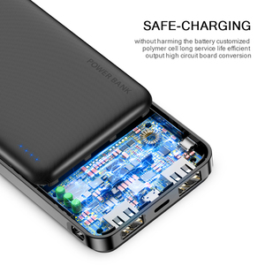 Image 3 - FLOVEME 20000mAh Power Bank Powerbank For Xiaomi External Battery Portable Charger Double USB Mi Poverbank Bateria Externa Movil