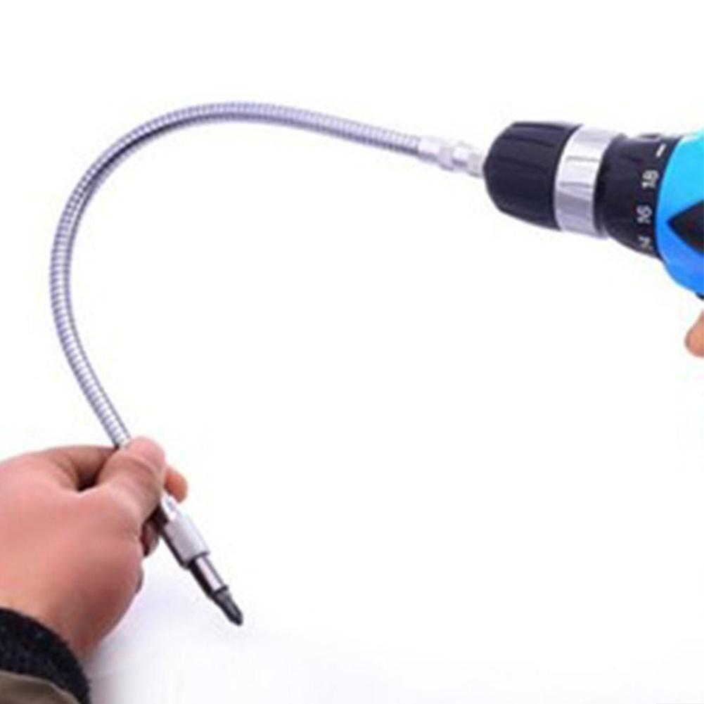 400mm Flexible Shaft Tool Metal Drill Screwdriver Bit 15-40cm Holder Connect Link Multitul Hex Shank Extension Snake Bit