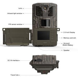 Image 3 - Cámara de caza por infrarrojos WIMIUS 1080P, cámara de 16MP, 940nm IR, Led de visión nocturna, detección de movimiento, resistente al agua, cámara de rastreo para caza silvestre