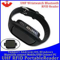UHF RFID reader pocket tragbare mini uhr reader bluetooth verbinden handy einfach verwenden kleine usb android chip schriftsteller kopierer