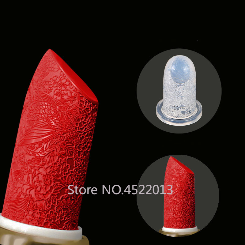1/5/10pcs 12.1mm  Lipstick Mold Silicone Aluminum Ring Mold Holder DIY Crafts Tool Kit Stand Lip Balm Tube Makeup Diy Homemade