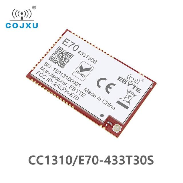 E70 433T30S CC1310 1w 433MHz IOT SMD rf Inalámbrico uhf módulo transmisor y receptor 433MHz Módulo de radiofrecuencia