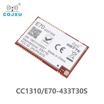 E70-433T30S CC1310 1w  433MHz IOT SMD rf Wireless uhf Module Transmitter and Receiver 433MHz RF Module 1pc uart ax5043 433mhz rf transmitter and receiver cdsenet e31 t50s2 rf wireless microcontroller serial port module