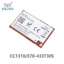 E70 433T30S CC1310 1w 433MHz IOT SMD rf kablosuz uhf modülü verici ve alıcı 433MHz RF modülü