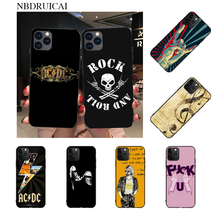 NBDRUICAI Rock roll Custom Photo Soft Phone Case for iPhone 11 pro XS MAX 8 7 6 6S Plus X 5S SE XR case(China)