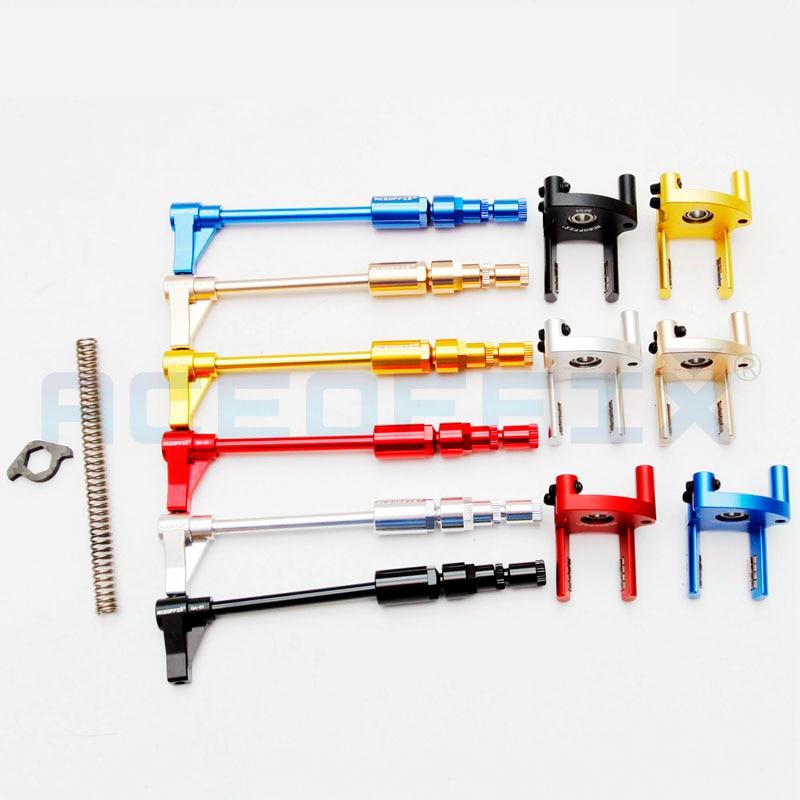 Велосипедный переключатель Aceoffix, цепь-толкатель с пружиной для складной велосипеда brompton с 2-7 скоростями