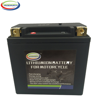9-B 12V 9AH Motorcycle Battery LiFePO4 Fe 350CCA Size135x75x133mm Bulit-in BMS Voltage Protection Lithium Phosphate ion Battery image