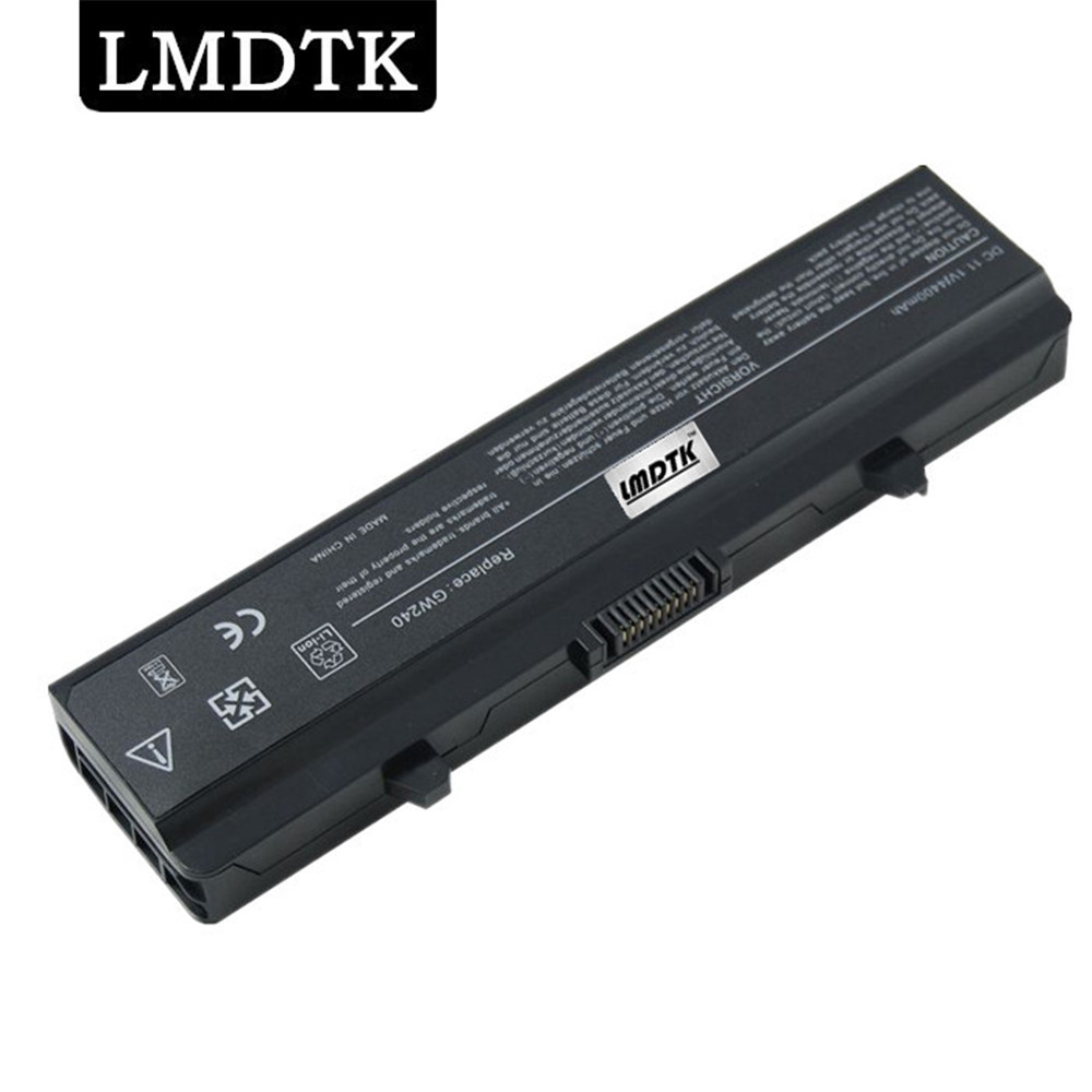 LMDTK New 6 CELLS Laptop Battery For INSPIRON 1525 1526 1545  1750 HP297 GW240 RN873 312-0626 312-0634 0XR693 FREE SHIPPING