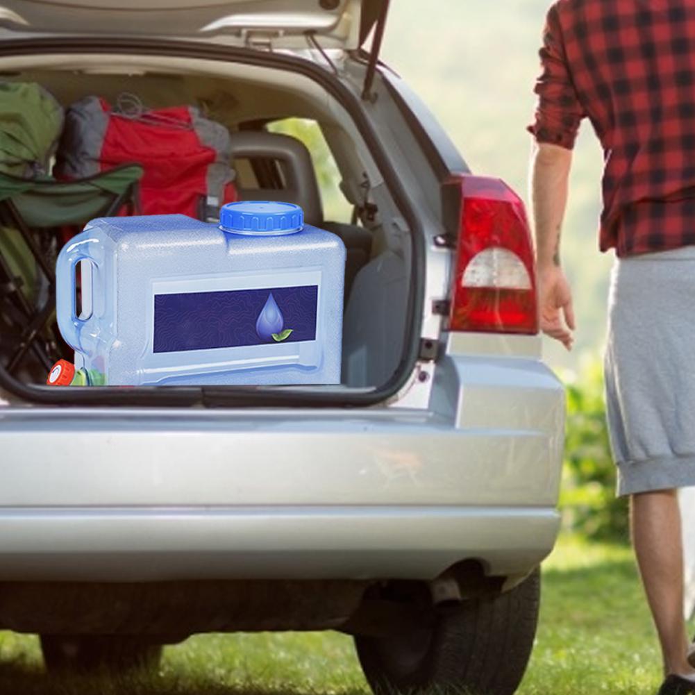 8l recipiente de agua do carro grau 01