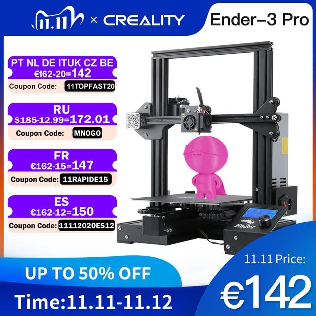 Набор 3d  наклеек CREALITY, обновленная версия Ender 3 профессиональный принтер комплект с магнитной крышкой, продолжение печати после перебоев с питанием, брендовый источник питания