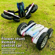 2.4G Roll Double Sided 4WD RC Drift Remote Control Car For Adults 360° Spin Stunt Kids Toys For Boys