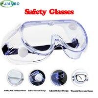 2018 nuevo patrón seguro trabajo de gafas especificaciones deportes gafas de laboratorio de protección gafas lentes transparentes ojos de seguridad Glasse de protección
