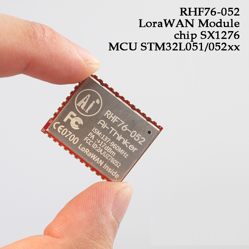 SX1276 SX1278 STM32L051/052xx LoraWAN Module Low Power Consumption 433MHz 868MHz Long Range IOT Devices Sensor Networking