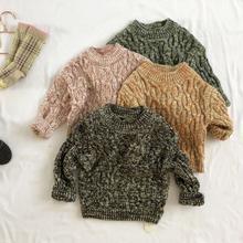Г., новинка,, вязаный свитер для девочек и мальчиков осенне-зимний модный детский пуловер, Свитера от 1 до 6 лет, HX268