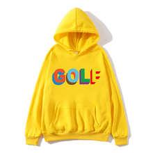 Мужские толстовки 2020 Осень Зима спортивный костюм письмо печать Гольф одежда мужчины кофты хлопок мужчины топы высокое качество пуловеры