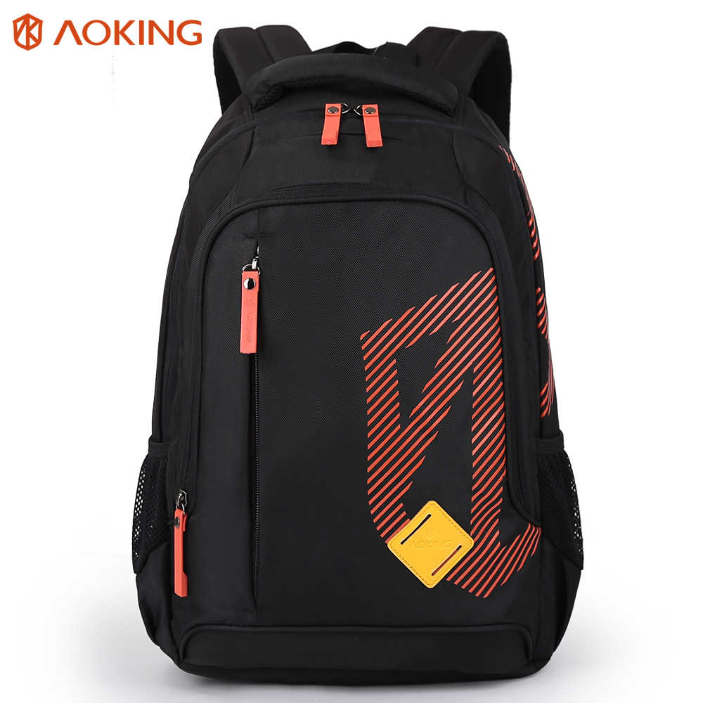 Aoking Large Capacity Leisure Backpack Bags For Women 2019 Striped Boys Girls School Bags Travel Shoulder Bag Mochila Teenager