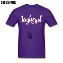 TV Series Jughead Jones Bughead Riverdale Printed Tees Male Round Neck Short Sleeve T-Shirt Popular Youth Cool TV show T Shirt(China)