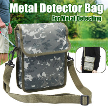 Сумка для металлоискателя, камуфляжная, Оксфорд, на талии, на ремне, сумка на плечо, на удачу, золотой самородок, сумки для обнаружения металла