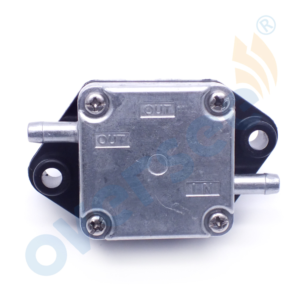 OVERSEE Fuel Pump Assy 15100 91J02 for Suzuki Outboard Engine 4 Stroke DF4HP 5HP 6HP 15100 89J01 in Boat Engine from Automobiles Motorcycles