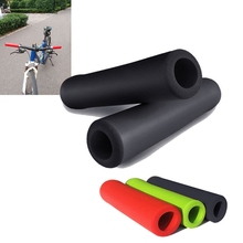 Handle Bar Grips Scooter BMX MTB Mountain Bike Bicycle Cycle Ultralight Silicone 1pair soft foam sponge bmx mtb bike cycle bicycle handle handlebar bar grips