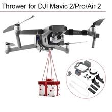 Uzaktan atıcı DJI Mavic 2 Pro Zoom hava 2 balıkçılık yem teslimat parabolik hava bırakma sistemi Drone Quadcopter aksesuarları