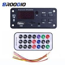 Samochodowy odtwarzacz MP3 głośniki muzyczne bezprzewodowy Bluetooth 5.0 MP3 płytka dekodera WMA moduł Audio obsługuje USB TF AUX Radio FM Audio