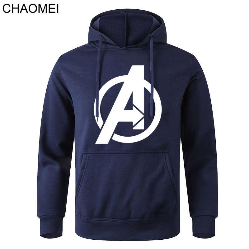 2020 Fashion Marvel The Avengers Printed Sweatshirt Hoody Men Superhero Streetwear Male Long Sleeve Pullover Jacket Coat C153