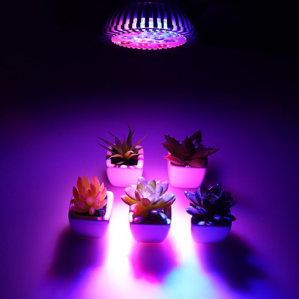 Панель полного спектра Светодиодный лампа для теплицы садоводства лампа для выращивания комнатных цветение растений Светодиодная лампа