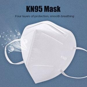 Kn95mask poeira rosto boca máscaras descartáveis filtro pm2.5 segurança respirador reutilizável algodão mascarilla anti máscara filtro respiração