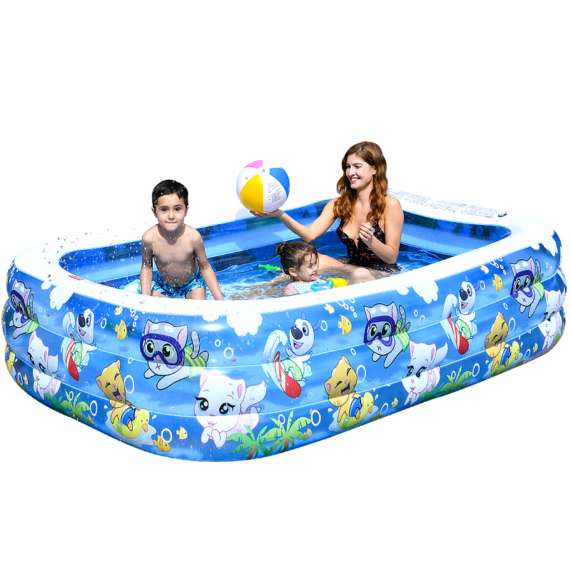 Inflatable Swimming Pools Inflatable Kiddie Pools Swim Center For Kids Adults Babiestoddlers Outdoor Garden Backyard Swimming Pool Aliexpress
