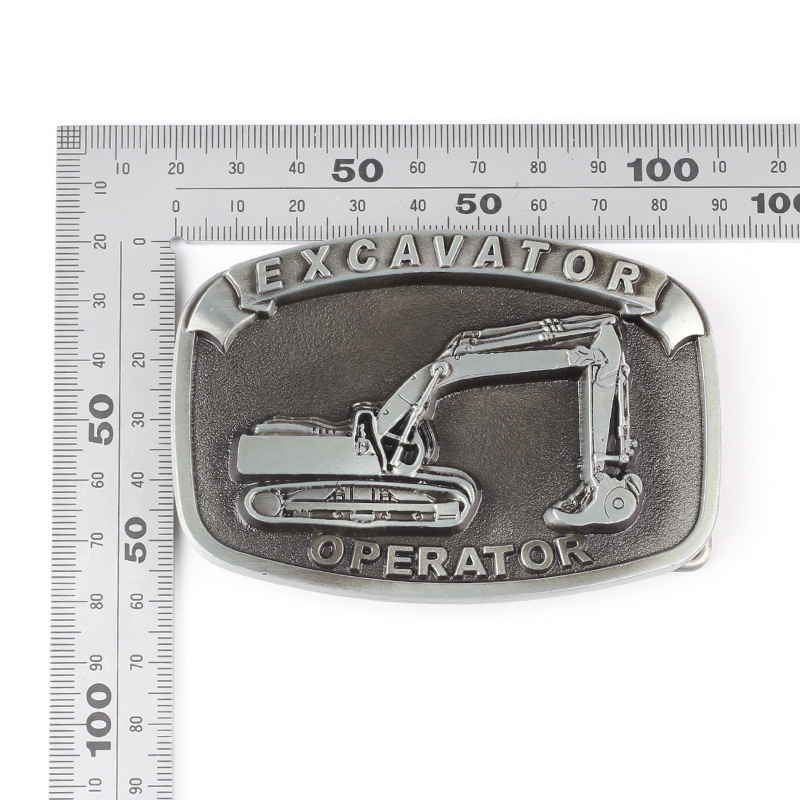 Excavator belt buckle Belt DIY Components homemade handmade waistband Accessories