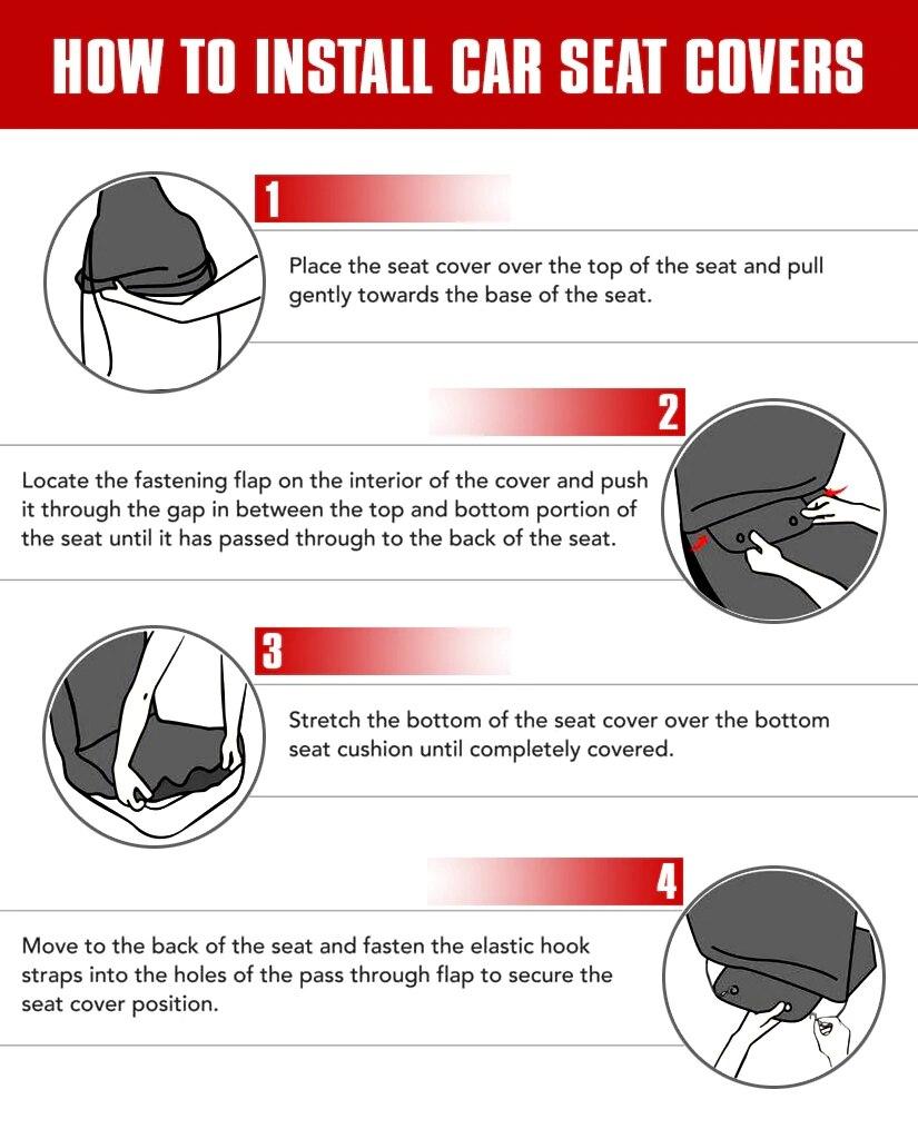 Image 5 - HUGSIDEA Cool 3D étoile loup impression housse de siège de  voiture de luxe housse de protection de voiture mode Animal conception  Auto fournitures avec cuir PUHousses de chaise