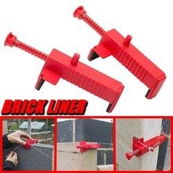 Tough Ppr Materiaal Baksteen Liner Runner Draad Lade Bricklaying Tool Fixer Voor Bouw Tool Voor Bouwers Metselaars