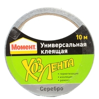 Adhesive tape HENKEL Moment 011149 10m polyethylene cotton rubber resin