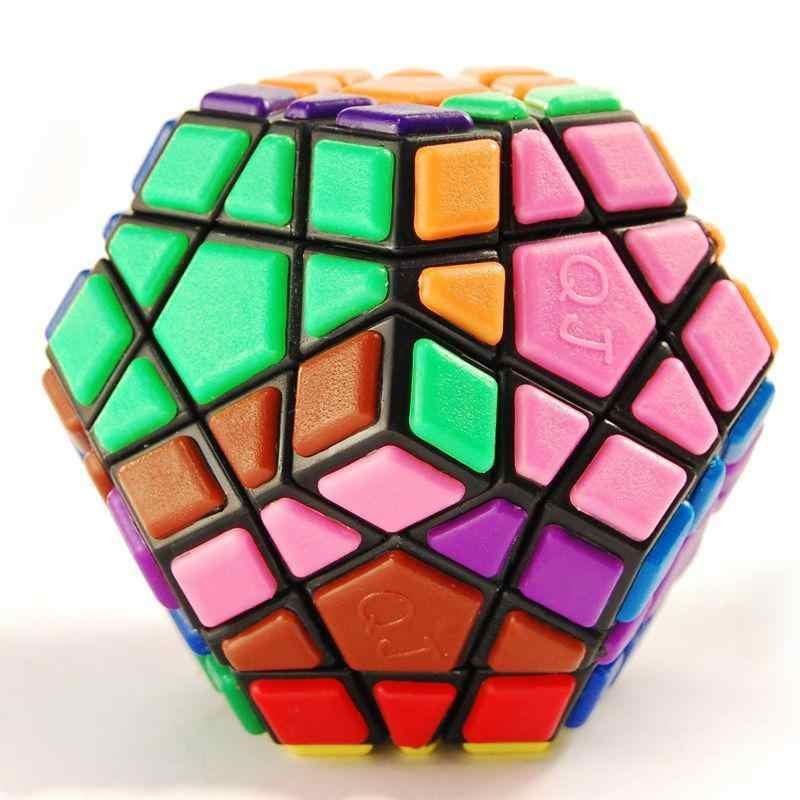 Rctown blackmegaminx velocidade quebra-cabeça cubo