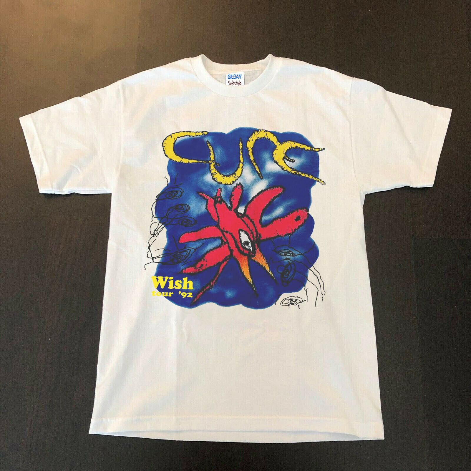 The Cure Wish Tour 1992 Vtg T Shirt