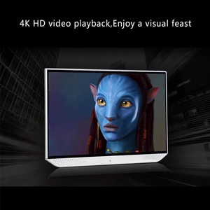 Image 2 - 13.3 Inch Android 9.0 2GB+32GB Car Headrest Monitor 4K 1080P Touch Screen WIFI/Bluetooth/USB/SD/HDMI/FM/Mirror Link/Miracast