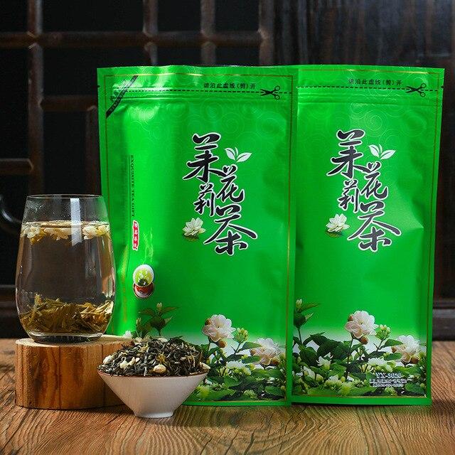 شاي أخضر بالياسمين الياسمين الطبيعي زهرة شاي أخضر 250g