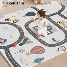 Thickness 1cm Baby Play Mat Xpe Puzzle Children's Mat Thickened Tapete Infantil Baby Room Crawling Pad Folding Mat Baby Carpet