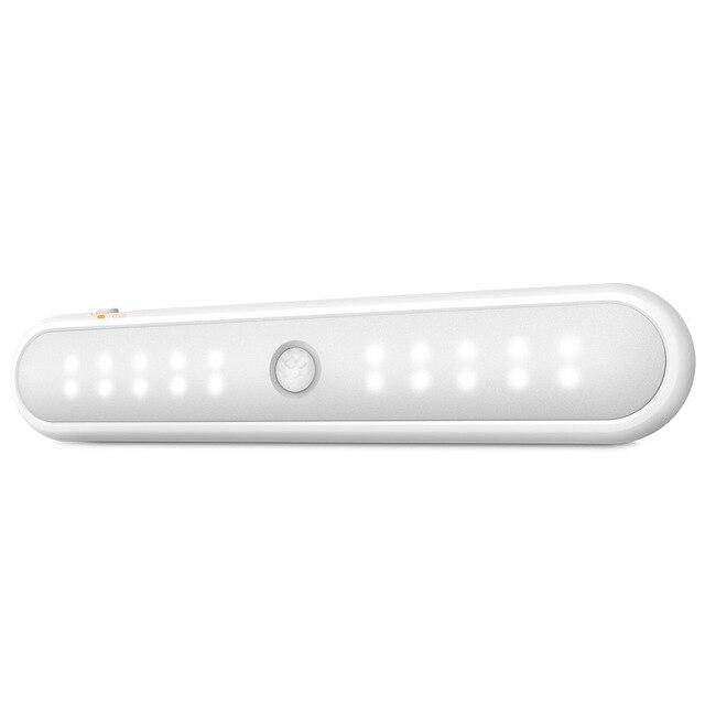 Фото умный мини светильник для шкафа 20 светодиодов с инфракрасным цена