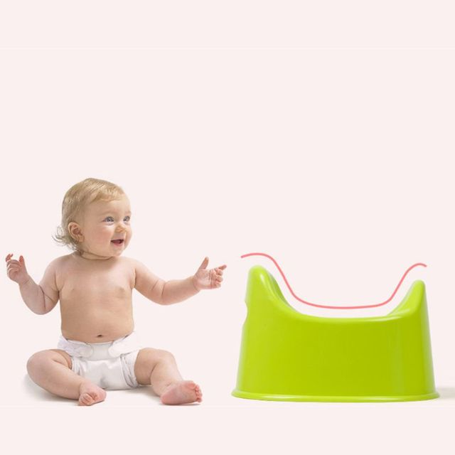Children Urinate Seat Kids Baby Potty Training Toilet Seat Infant Chamber Pots rose red, green, blue, yellow | Happy Baby Mama